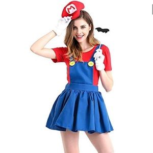 Halloween Costume - Super Mario NWT